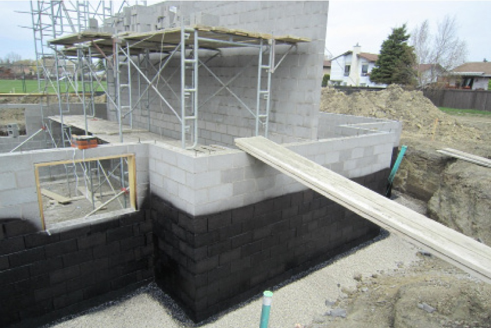 Concrete block foundation design pictures to pin on for Concrete block basement
